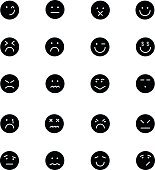 Smiley Vector Icons 6