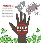Poster for stop Mers virus