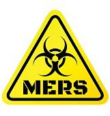 Warning sign of Mers virus