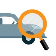 car search icon vector