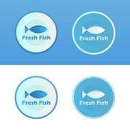 Icons of Fish with caption