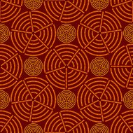 Seamless vector pattern. Interesting beautiful background.