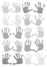 Twenty Handprints