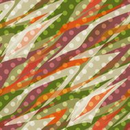 Seamless pattern abstract polka dot retro background