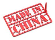 Made in China concept