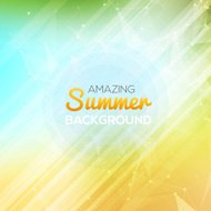 Summer abstract background. Summer template poster.