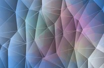 Abstract geometric background consists of triangles