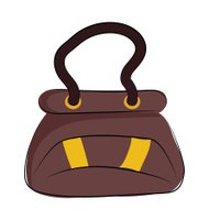 Hand Bag Colored Sketchy Vector Icon