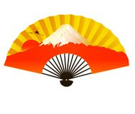 Fuji sunrise greeting cards