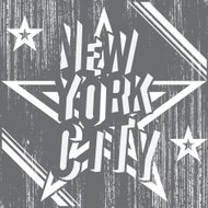 New York City, t-shirt Printing design, vector Badge Applique Label