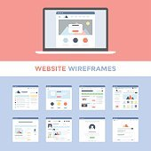 Site Wireframes