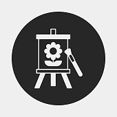 painting artwork icon