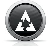 Chevron Chart icon on a round button.