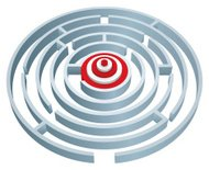Maze to target