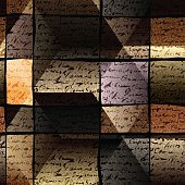 Manuscript dark textured background