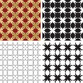 Ornate wallpaper pattern