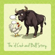 The old cock and bull story