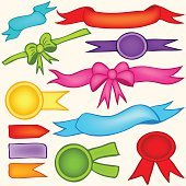 ribbons and banners