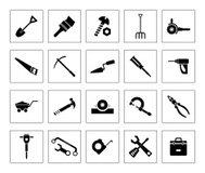 Tool vector Icons set