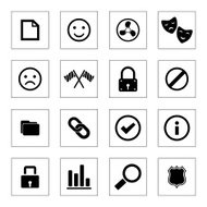 Universal web icon set for Web & Mobile.
