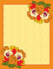 Autumn Flower Design