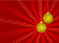 Christmas background-red