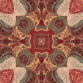 Ornamental tile pattern