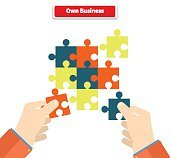 Creating or Building Own Business Concept
