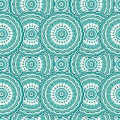 Ornamental seamless pattern, background with many details. Ethnic traditional ornament