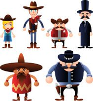 Avatar Wild West People Characters Costumes Avatars