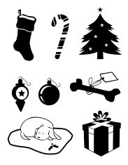 Christmas Clip Art Icons