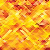 Abstract seamless pattern. Mosaic Vector