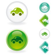 Car  icon | Ecological series