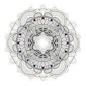 exquisite mandala pattern design