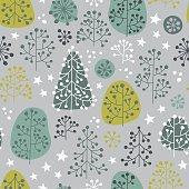 First Frost - seamless pattern