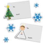 Christmas Tags And Stickers