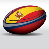 Rugby ball-Spain