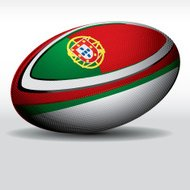 Rugby ball-Portugal