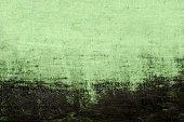 green painted artistic canvas background