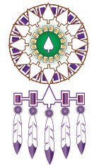 Iroquois Native American Indian Medicine Shield