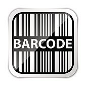 Barcode icon vector illustration