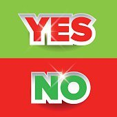 Yes or No label vector