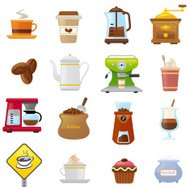 Coffee  icons | smoso series