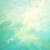Light abstract blue, green painted watercolor splashes background