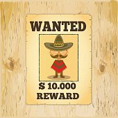 Wanted reward poster