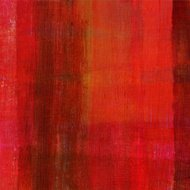 Abstract with Red and Brown