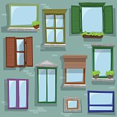 Different window drawings