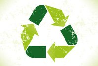Grunge Recycling Symbol