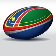 Rugby ball-Namibia