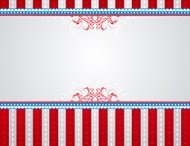 USA background with stars and  decorative frames.